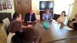 Sprawozdanie ze spotkania Akcji Lokatorskiej z prezydentem Rafałem Dudkiewiczem