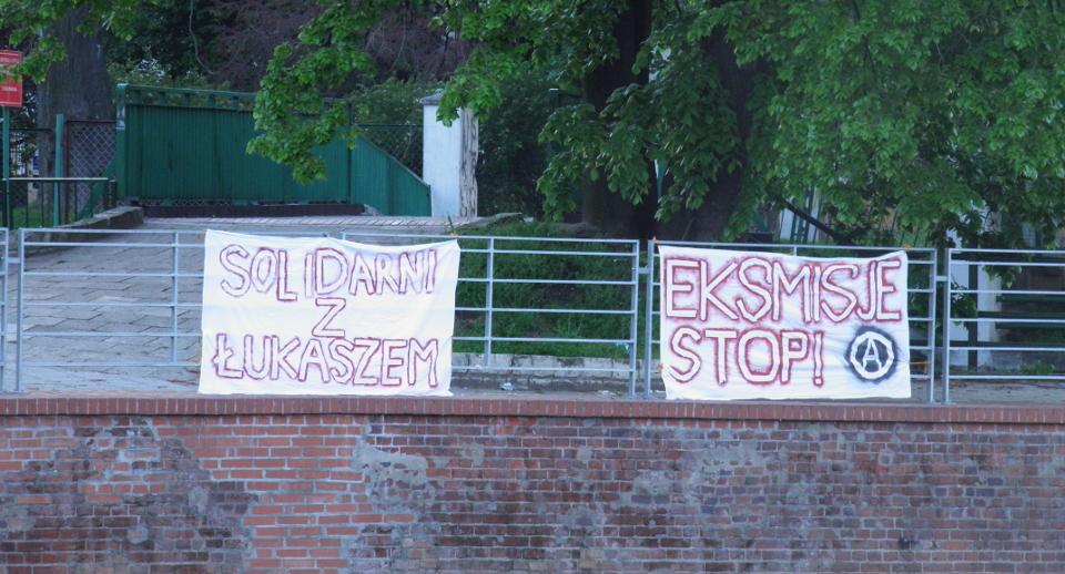 Solidarni z Łukaszem Bukowskim (maj 2016)