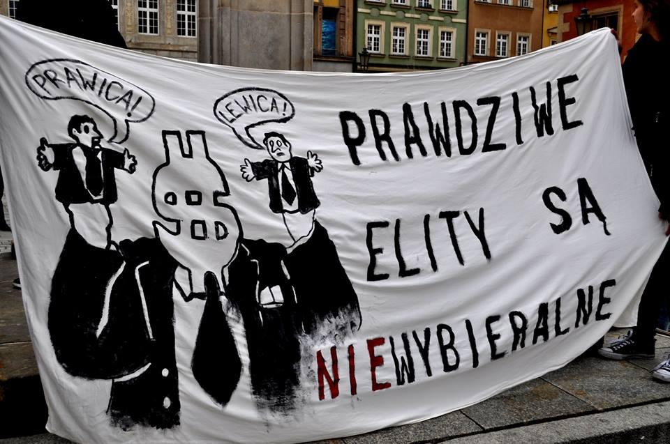 Protest przeciwko CETA i TTIP (październik 2016)