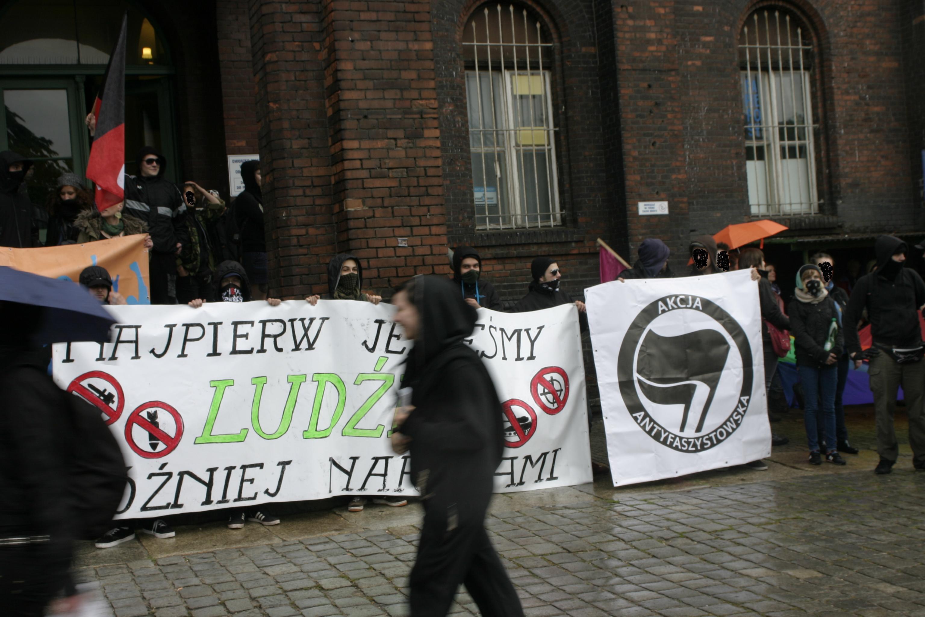 Wrocław dla wszystkich – demonstracja antyfaszystowska (maj 2014)
