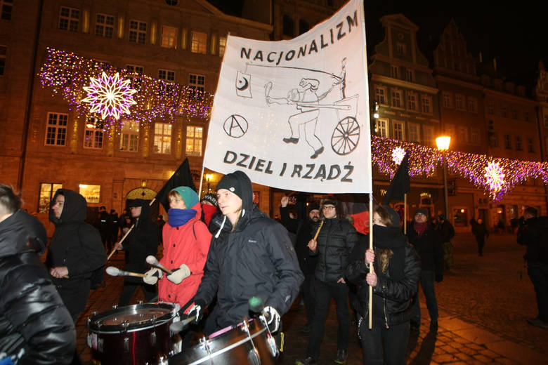 Demonstracja przeciwko rasizmowi