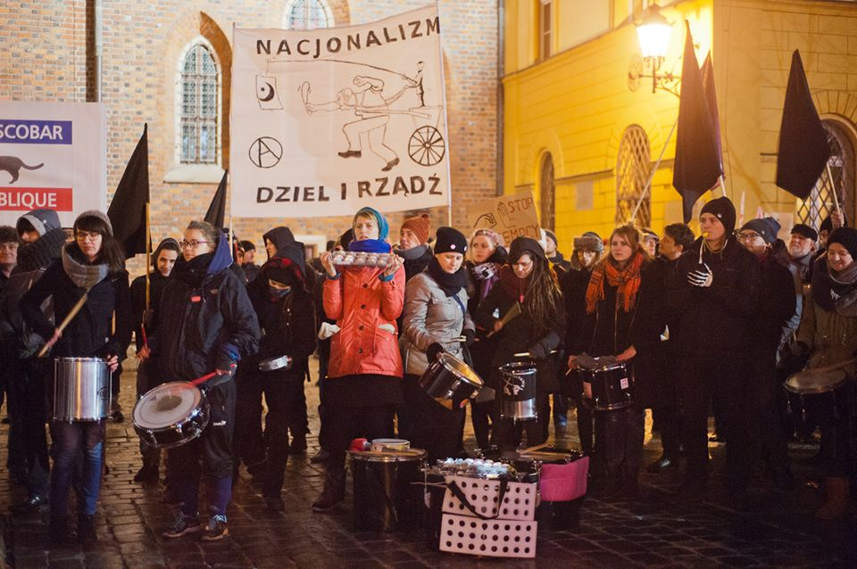 blok anarchistyczny demo antyrasistowskie7