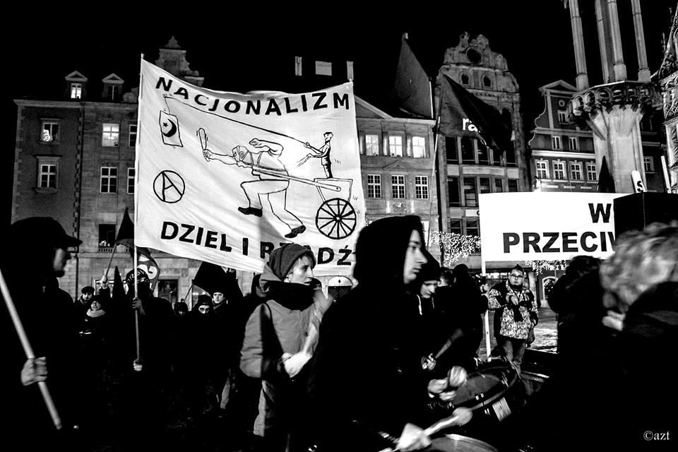 blok anarchistyczny demo antyrasistowskie8