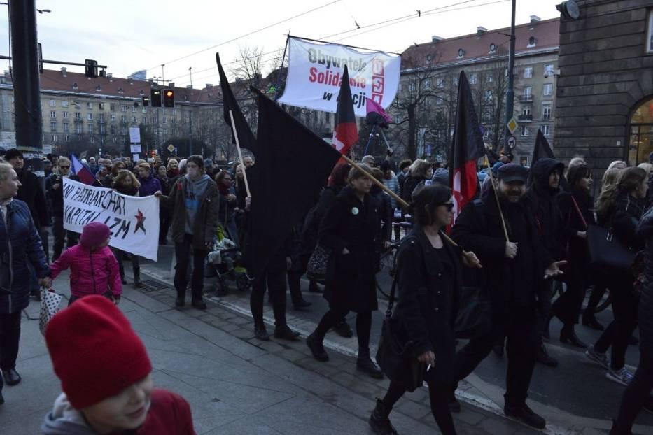 strajk kobiet blok anarchistyczny2