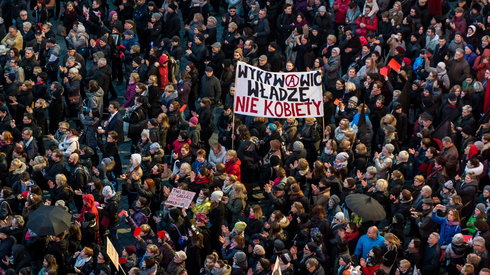 strajk kobiet blok anarchistyczny4