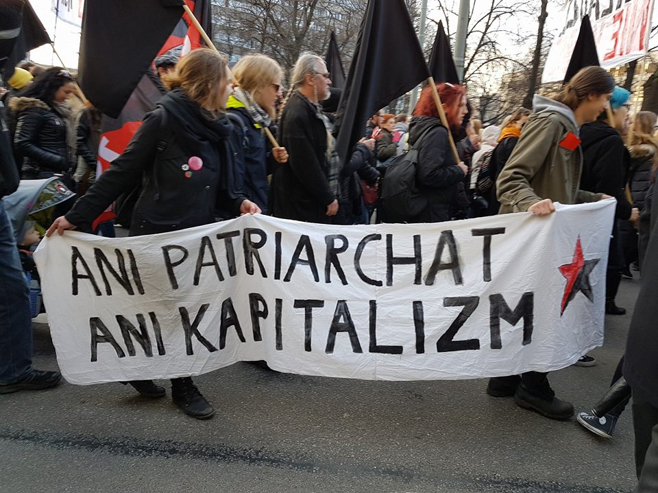 strajk kobiet blok anarchistyczny5