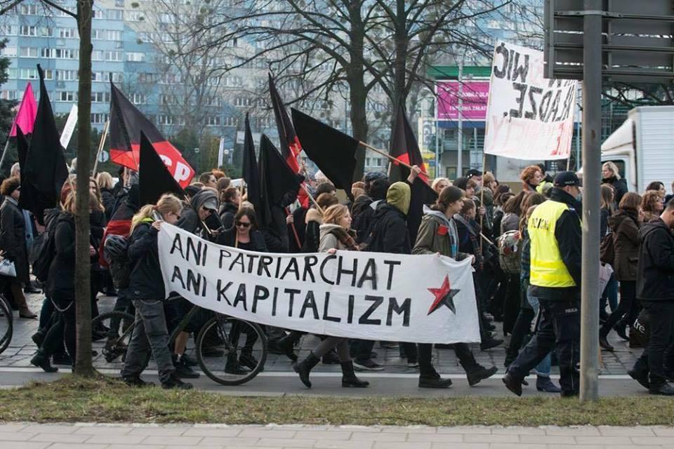 strajk kobiet blok anarchistyczny6